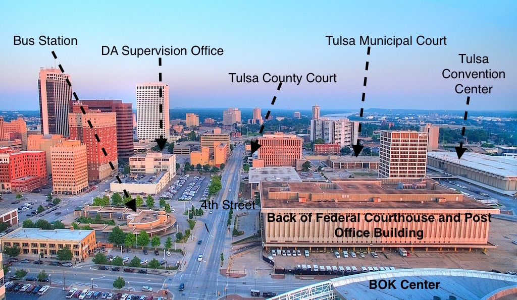 Location of Tulsa Courthouses